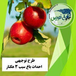 طرح توجیهی احداث باغ سیب 3 هکتار