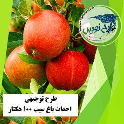 طرح توجیهی احداث باغ سیب 100 هکتار